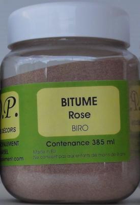 Bitume pot rose