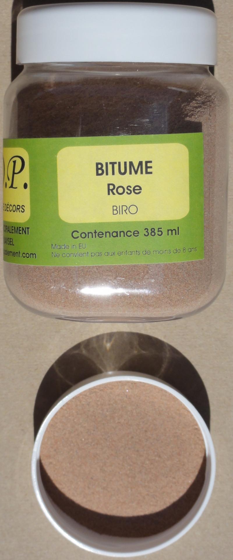 Bitume rose