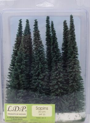 Sapins blister 20 cm