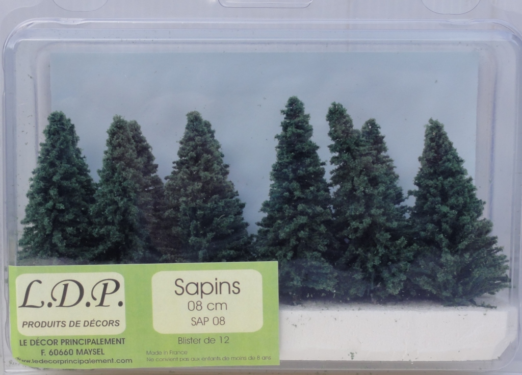 Sapins blister 8 cm