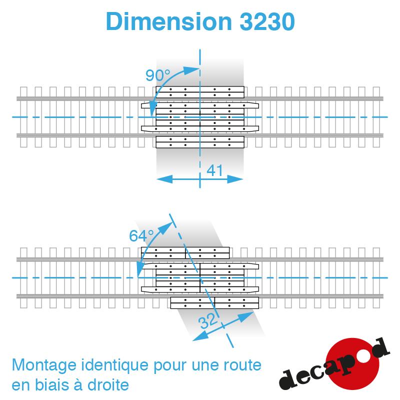 3230 dimension
