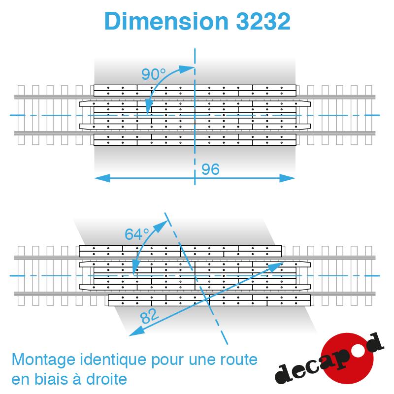 3232 dimension