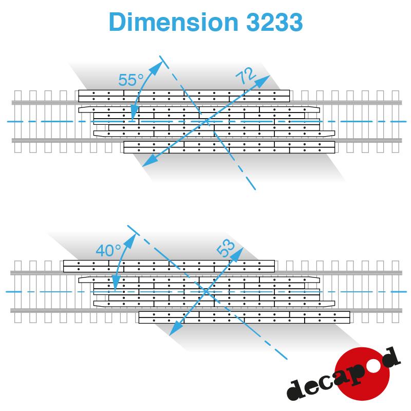 3233 dimension