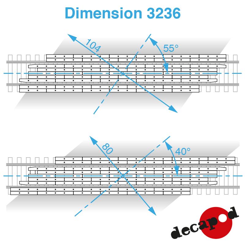 3236 dimension