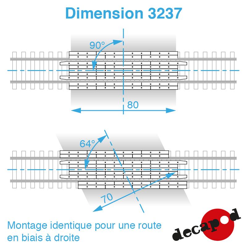 3237 dimension