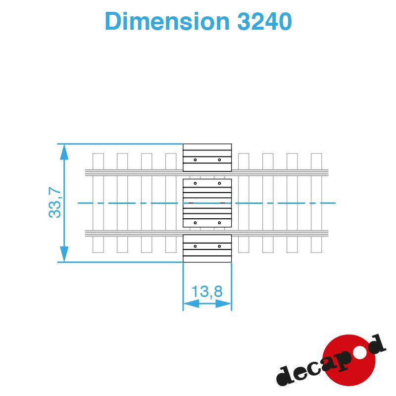 3240 dimension