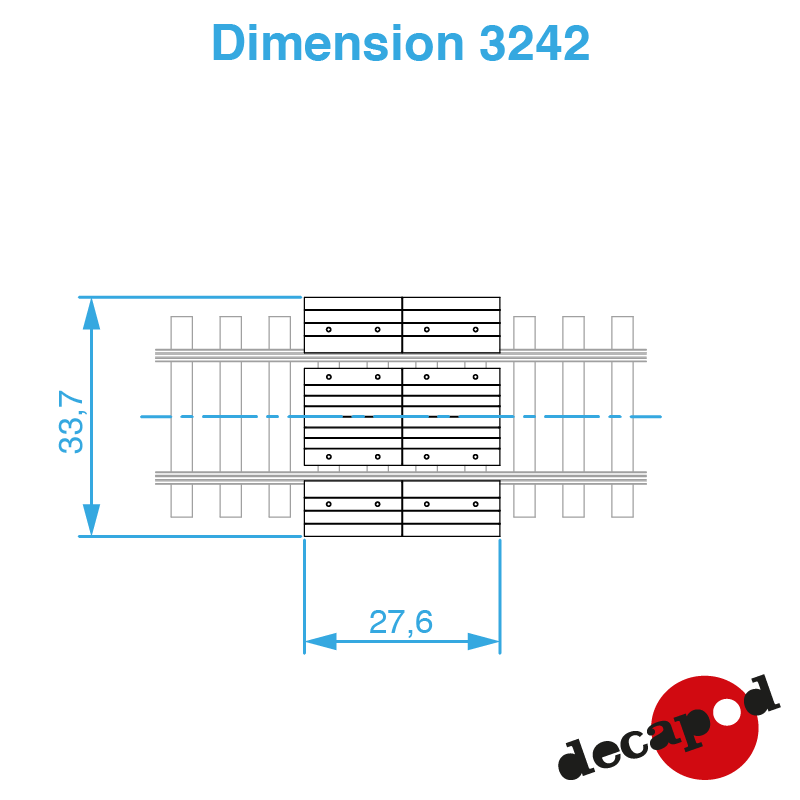 3242 dimension