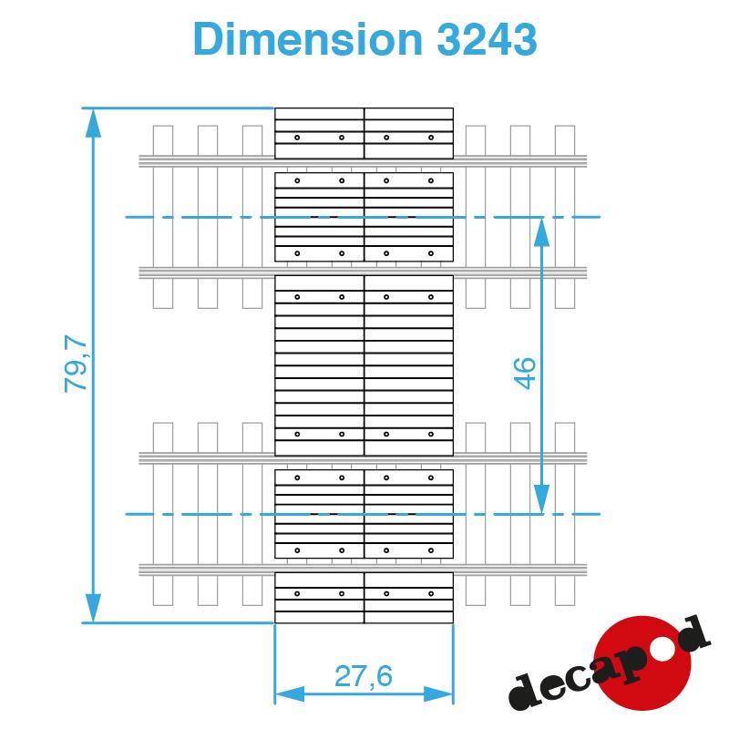 3243 dimension