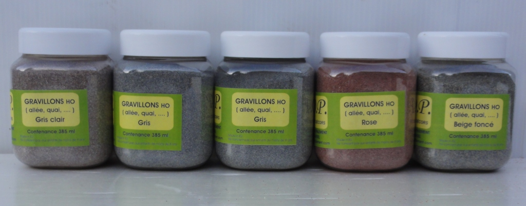 Gravillons pot