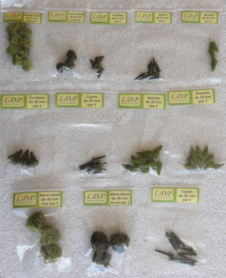 Sachet d arbres 23 - 40 mm