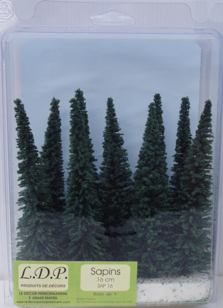 Sapins blister 16 cm